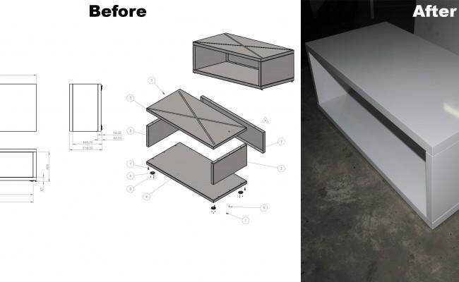 M03-148-SA2 Metal Box Assembly