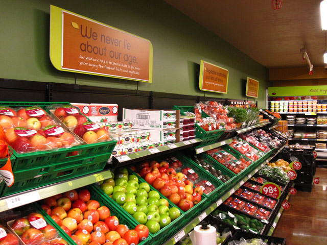 fresh and easy – caem t25 store fixtures for produce