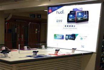 Hudl Displays Installation
